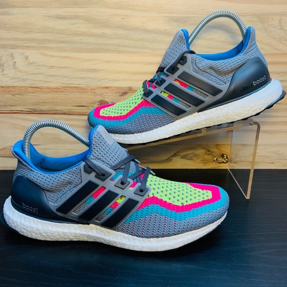 separation shoes 0eeeb eca01 New Adidas Ultra Boost 2.0 Multi Color Running NWT
